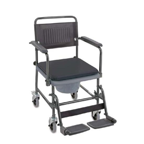chaise mobile de toilette 4 roues