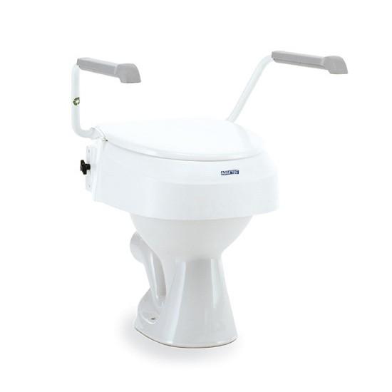 réhausse wc à vis et ajustable en hauteur
