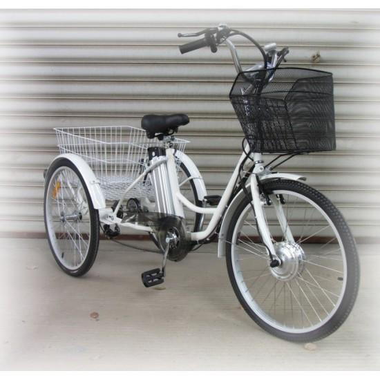 Tricycle assistance électrique.
